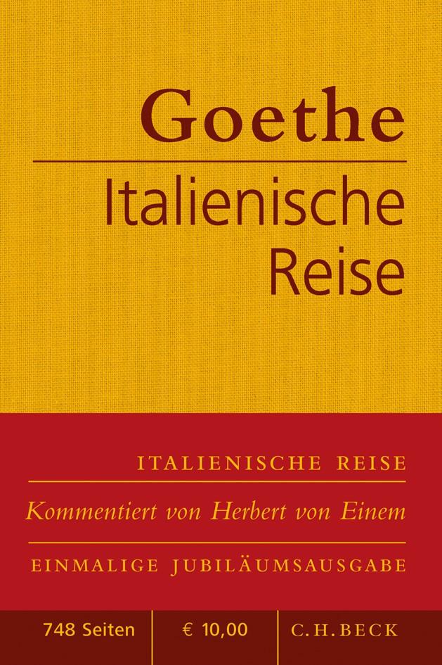 Cover des Buches 'Italienische Reise'