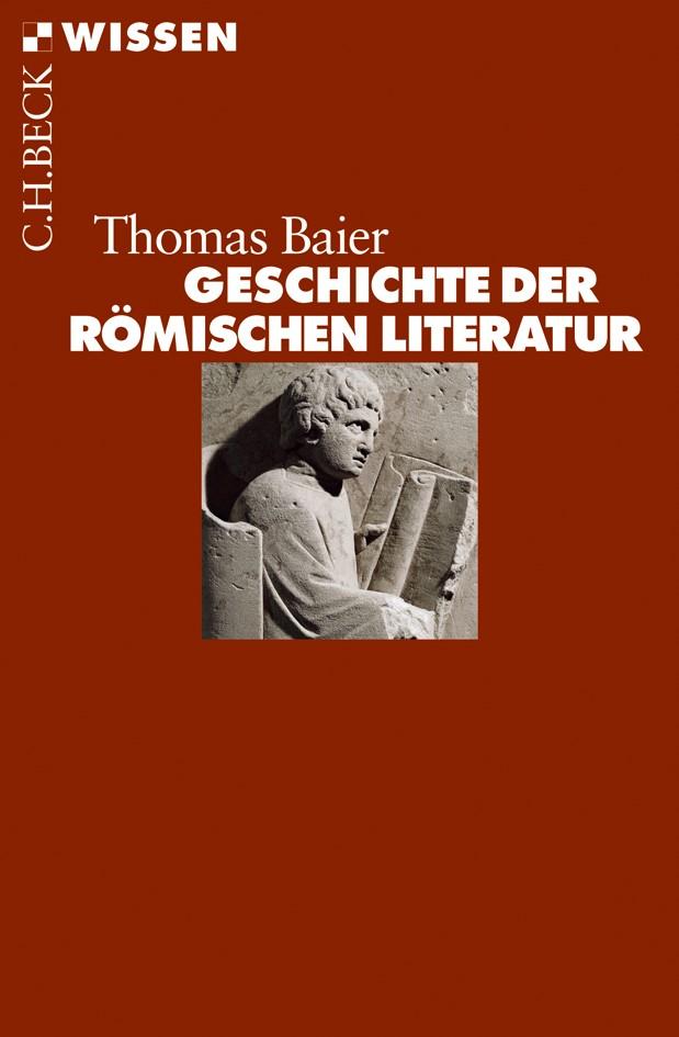 Cover des Buches 'Geschichte der römischen Literatur'