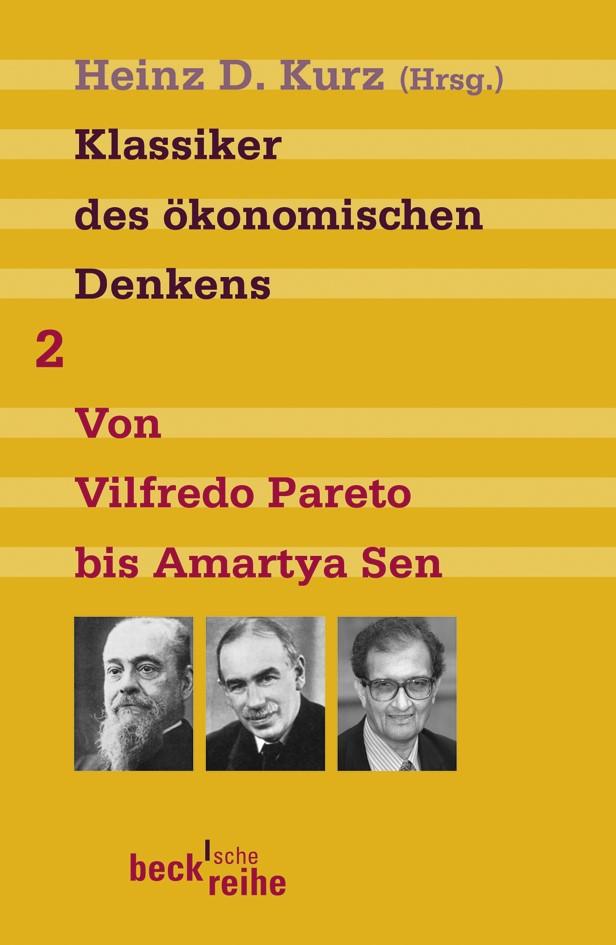 Cover des Buches 'Klassiker des ökonomischen Denkens Band 2'