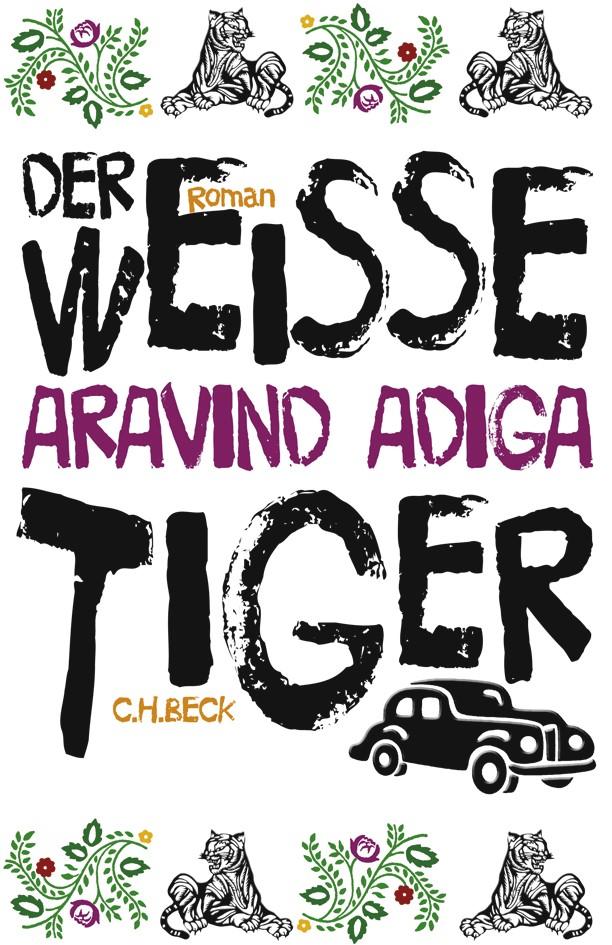 Cover des Buches 'Der weiße Tiger'