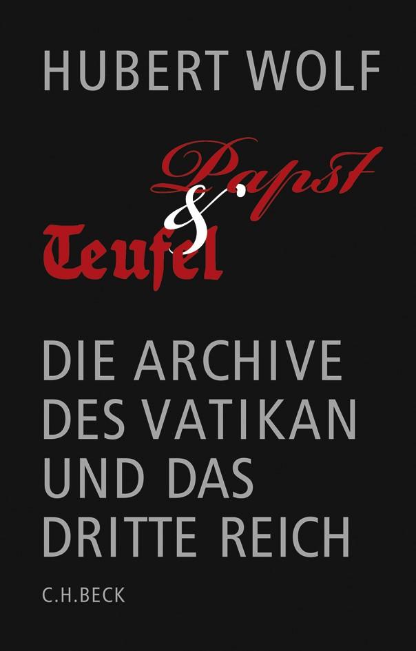 Cover des Buches 'Papst und Teufel'
