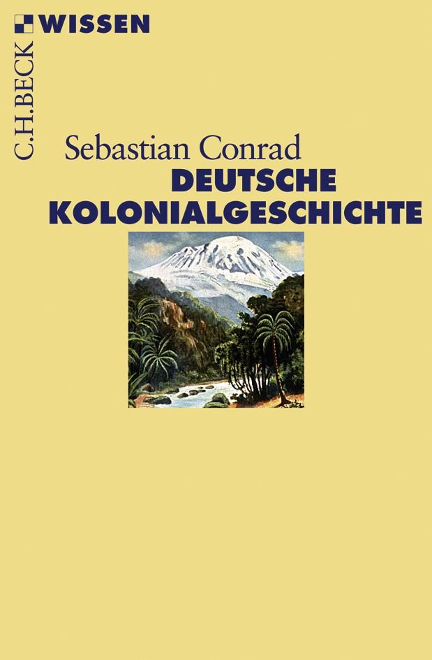 Cover des Buches 'Deutsche Kolonialgeschichte'