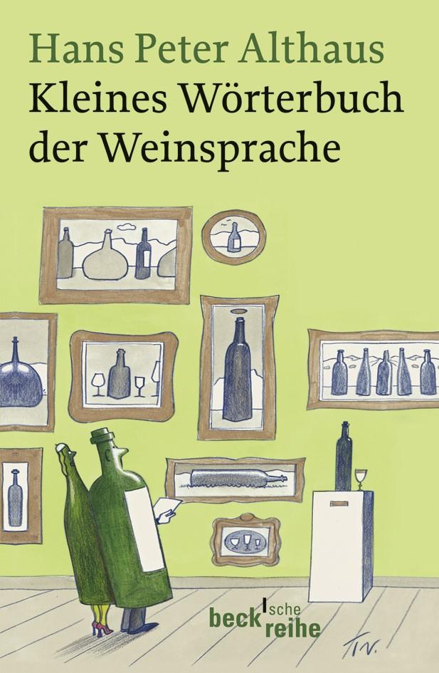 Cover des Buches 'Kleines Wörterbuch der Weinsprache'
