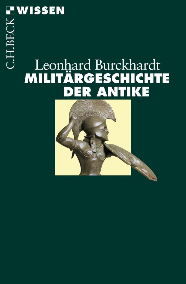 Cover des Buches 'Militärgeschichte der Antike'