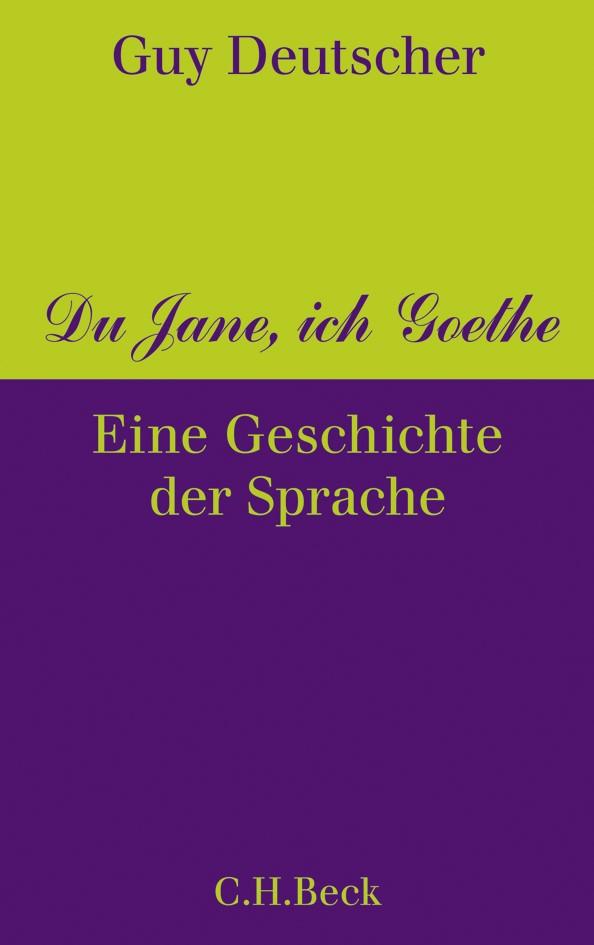 Cover des Buches 'Du Jane, ich Goethe'
