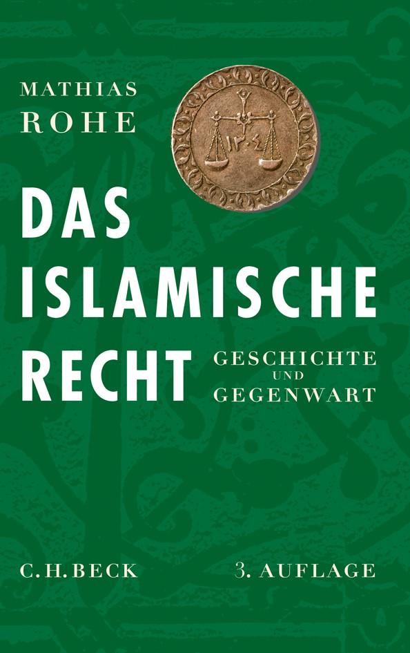 Cover des Buches 'Das islamische Recht'