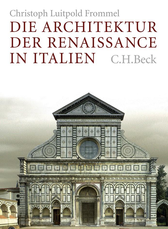Cover des Buches 'Die Architektur der Renaissance in Italien'