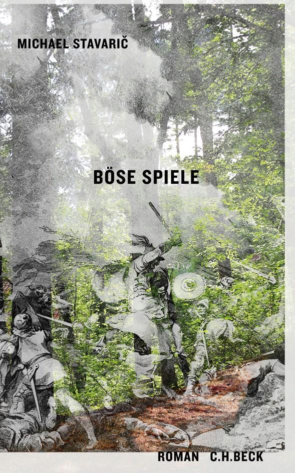 Cover des Buches 'Böse Spiele'
