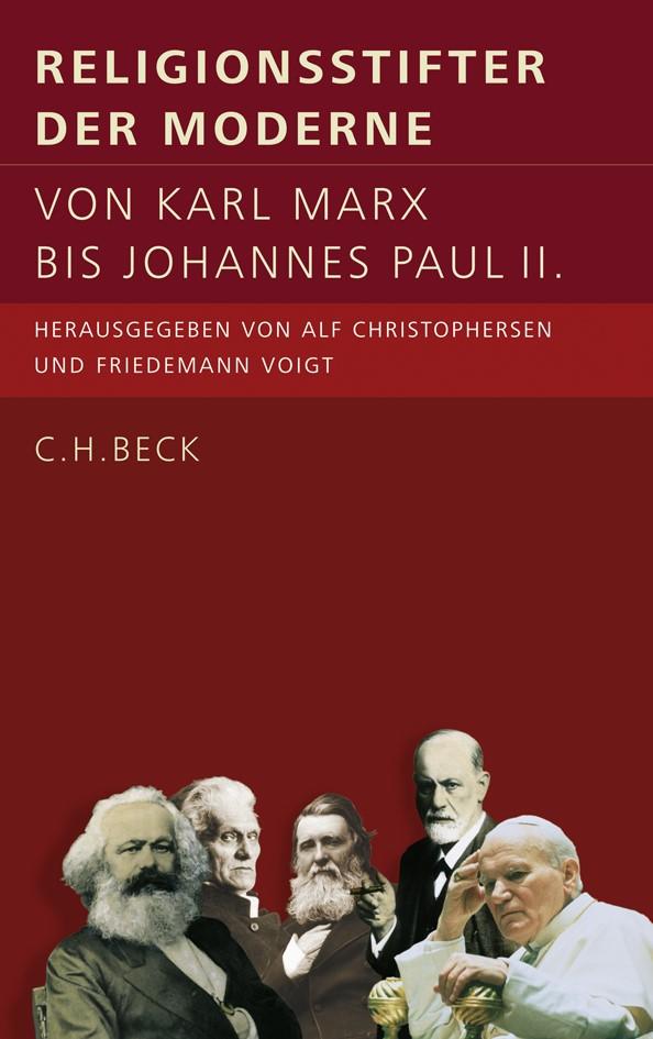 Cover des Buches 'Religionsstifter der Moderne'