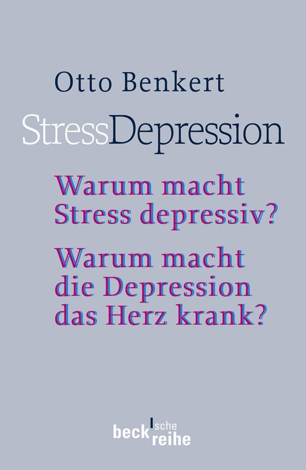 Cover des Buches 'StressDepression'