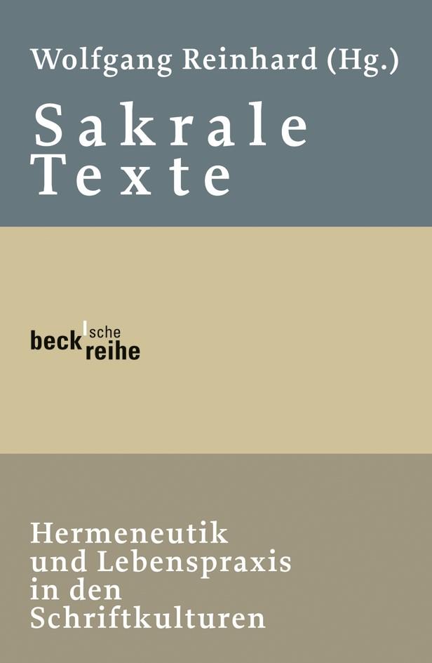 Cover des Buches 'Sakrale Texte'