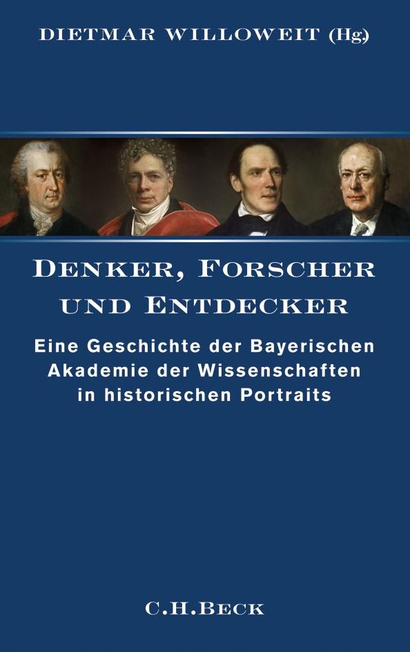 Cover des Buches 'Denker, Forscher und Entdecker'