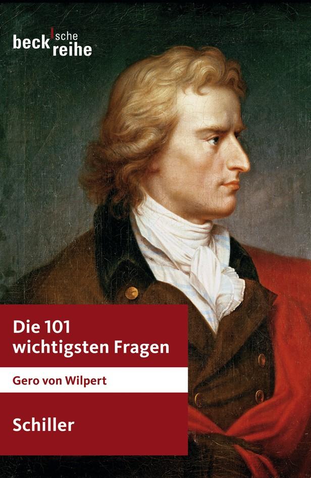 Cover des Buches 'Die 101 wichtigsten Fragen: Schiller'