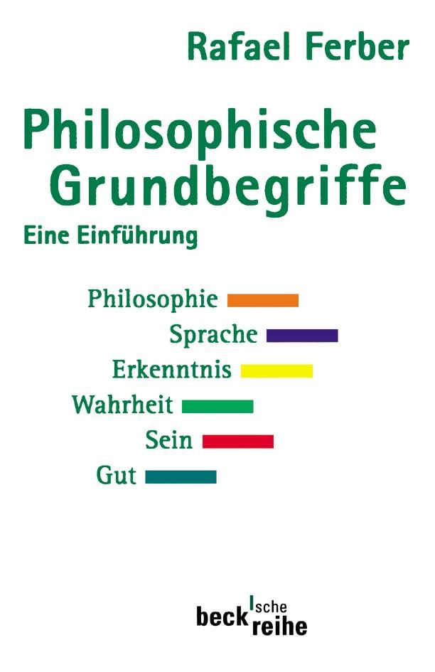Cover des Buches 'Philosophische Grundbegriffe 1'