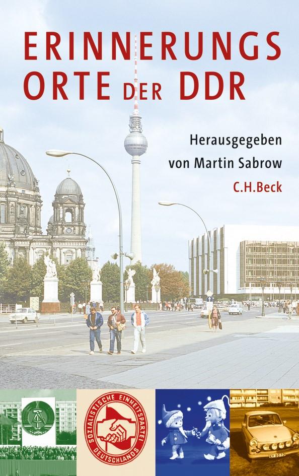 Cover des Buches 'Erinnerungsorte der DDR'