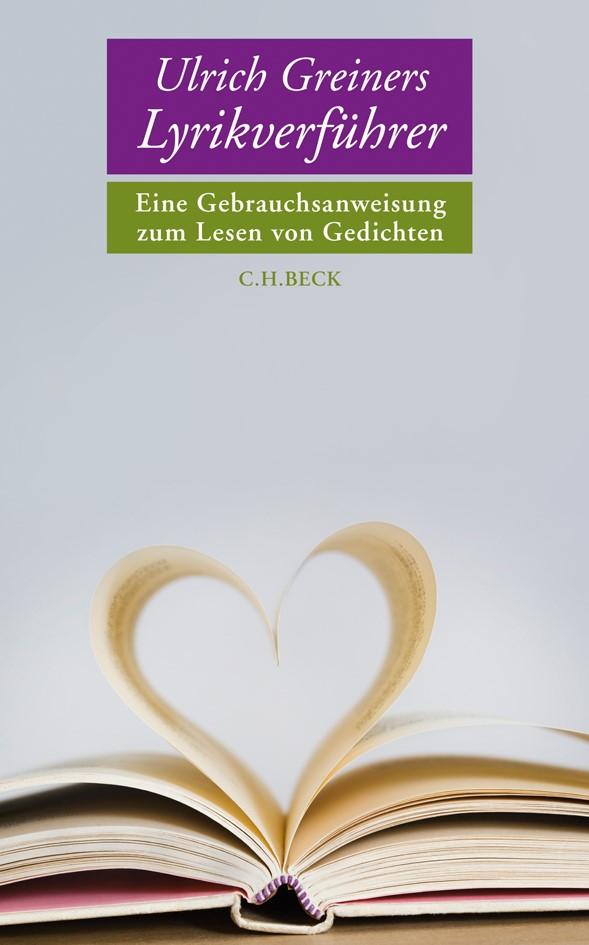 Cover des Buches 'Ulrich Greiners Lyrikverführer'