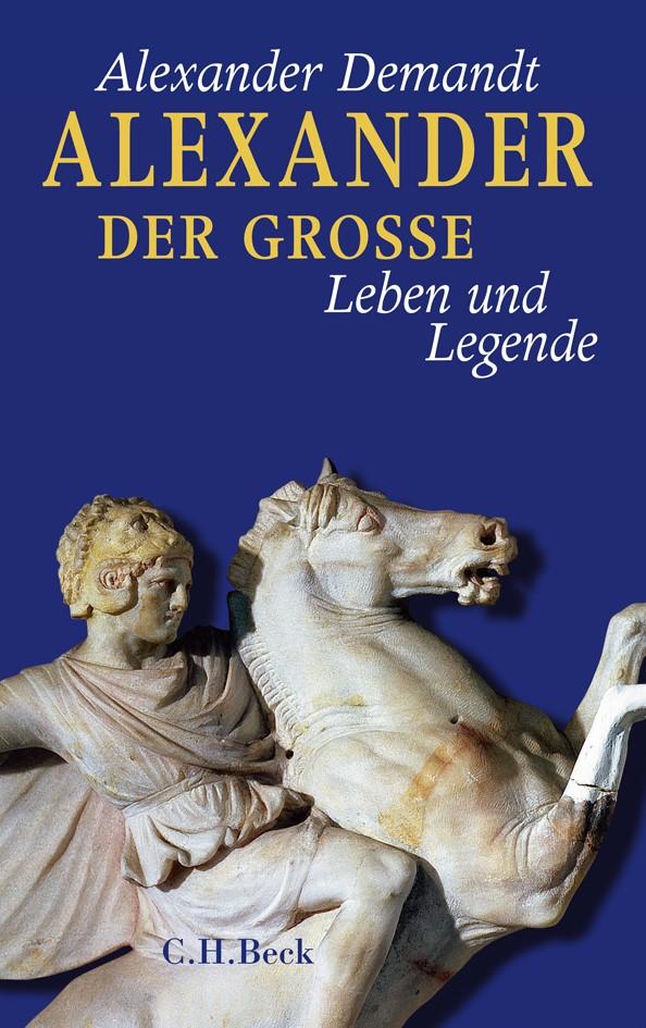 Cover des Buches 'Alexander der Große'