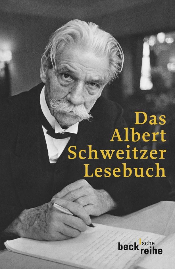 Cover des Buches 'Das Albert Schweitzer Lesebuch'