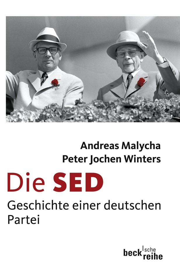 Cover des Buches 'Die SED'
