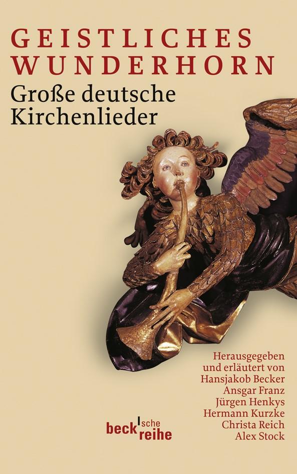 Cover des Buches 'Geistliches Wunderhorn'