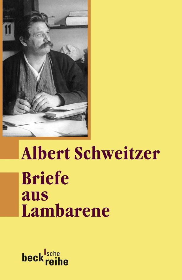Cover des Buches 'Briefe aus Lambarene'