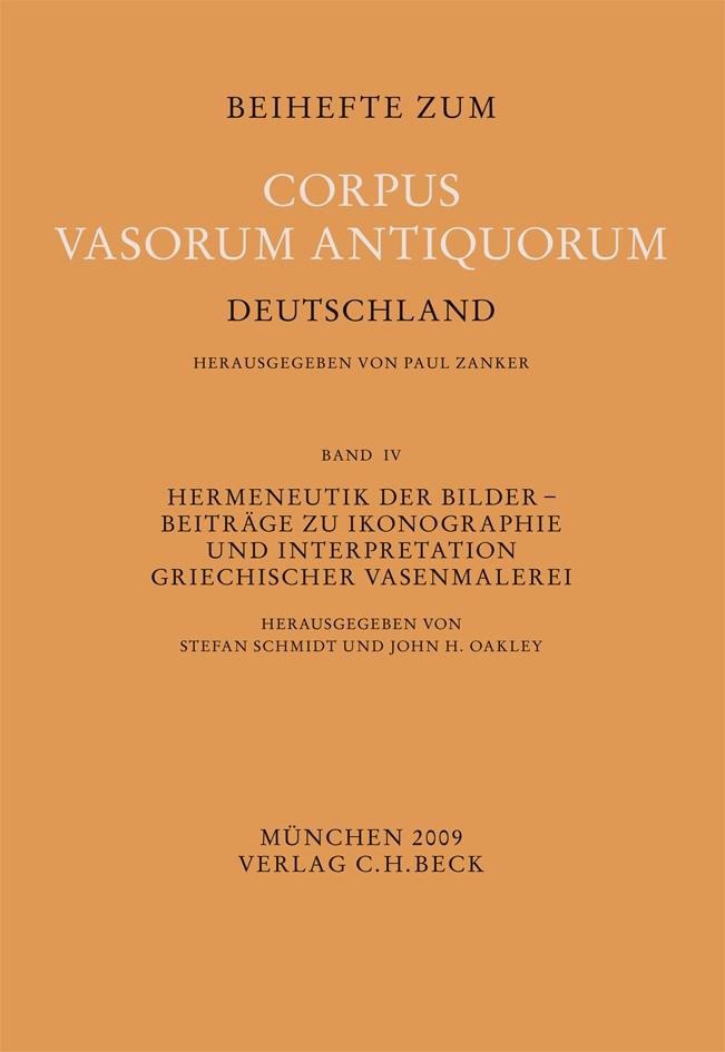 Cover des Buches 'Hermeneutik der Bilder'