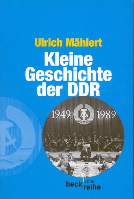 Cover des Buches 'Kleine Geschichte der DDR'