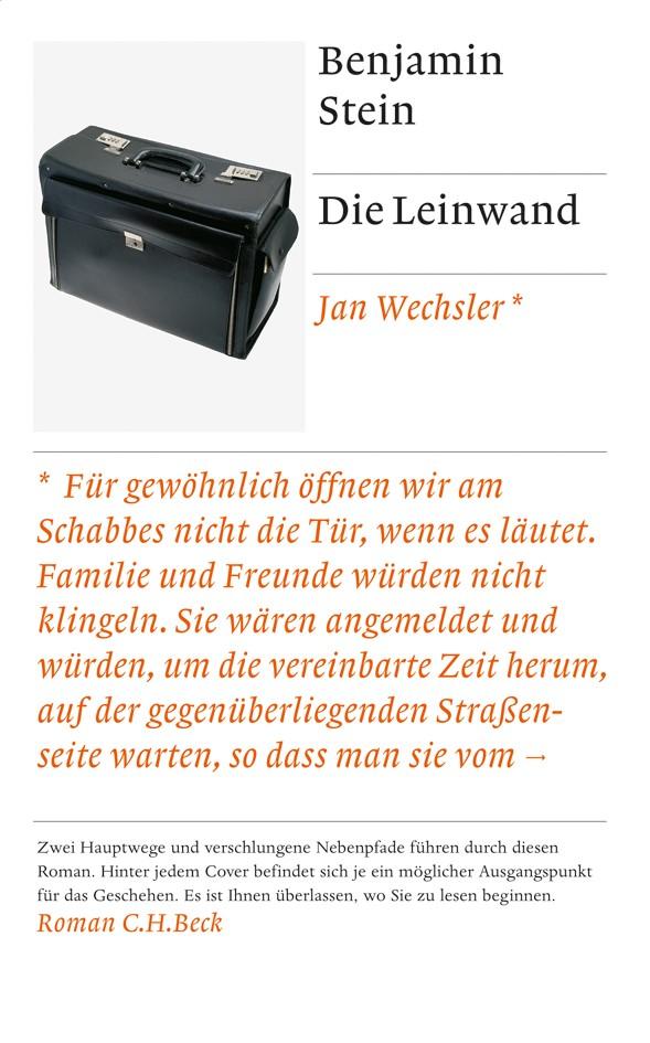 Cover des Buches 'Die Leinwand'