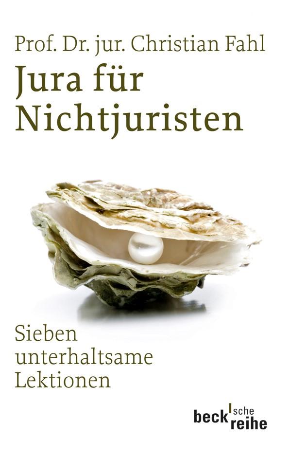 Cover des Buches 'Jura für Nichtjuristen'