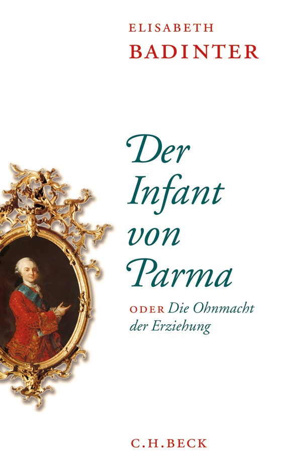 Cover des Buches 'Der Infant von Parma'