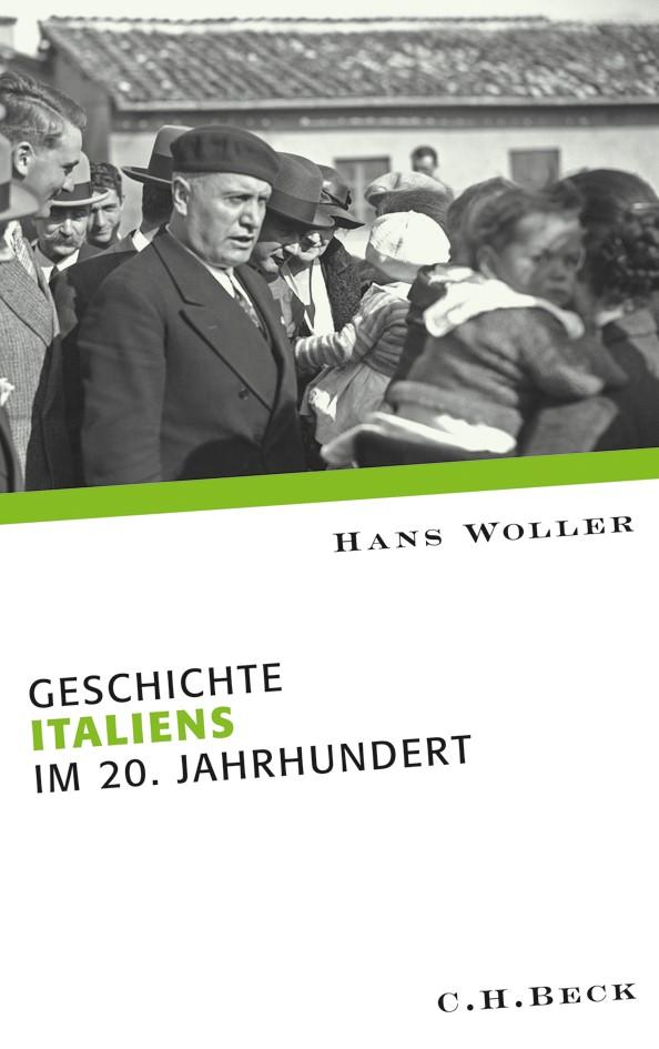 Cover des Buches 'Geschichte Italiens im 20. Jahrhundert'