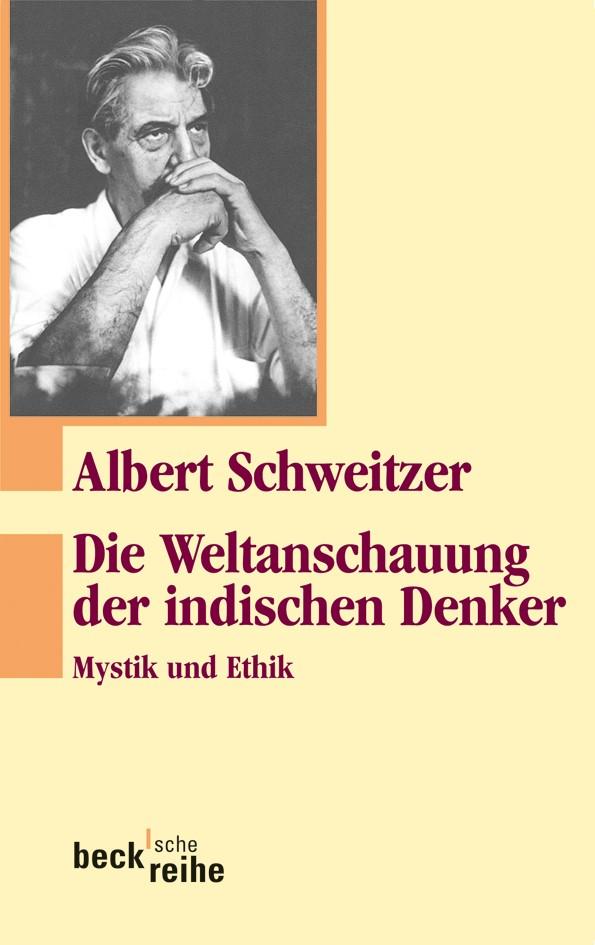 Cover des Buches 'Die Weltanschauung der indischen Denker'