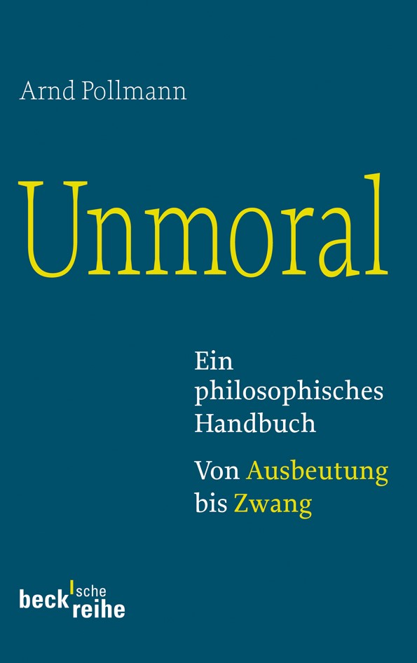 Cover des Buches 'Unmoral'