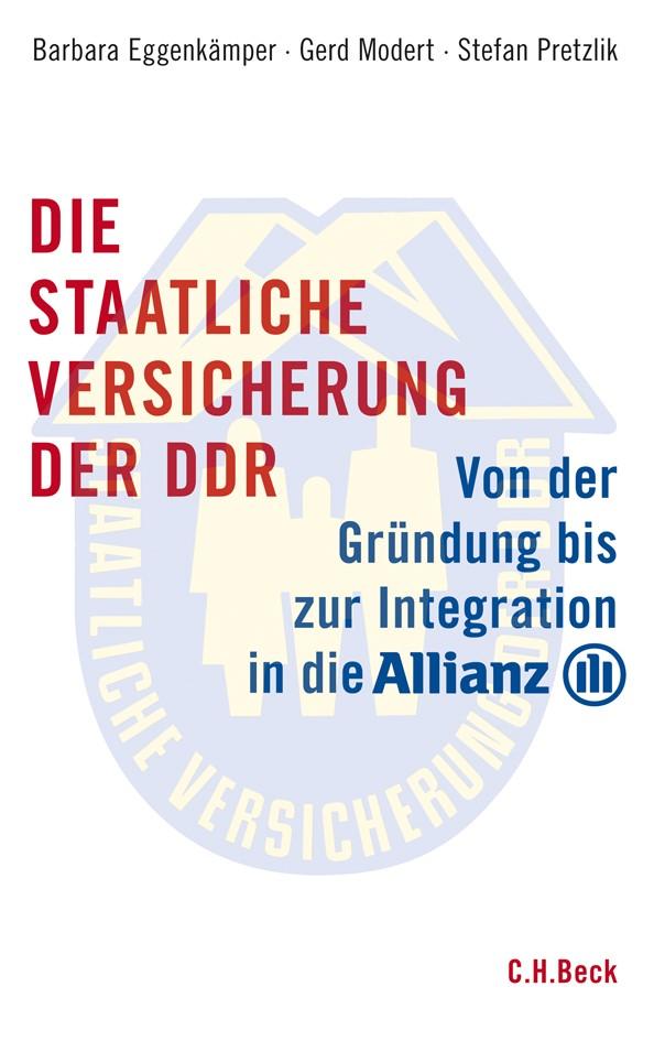 Cover des Buches 'Die staatliche Versicherung der DDR'