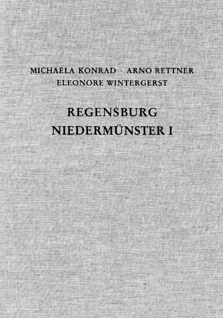 Cover des Buches 'Die Ausgrabungen unter dem Niedermünster zu Regensburg I'