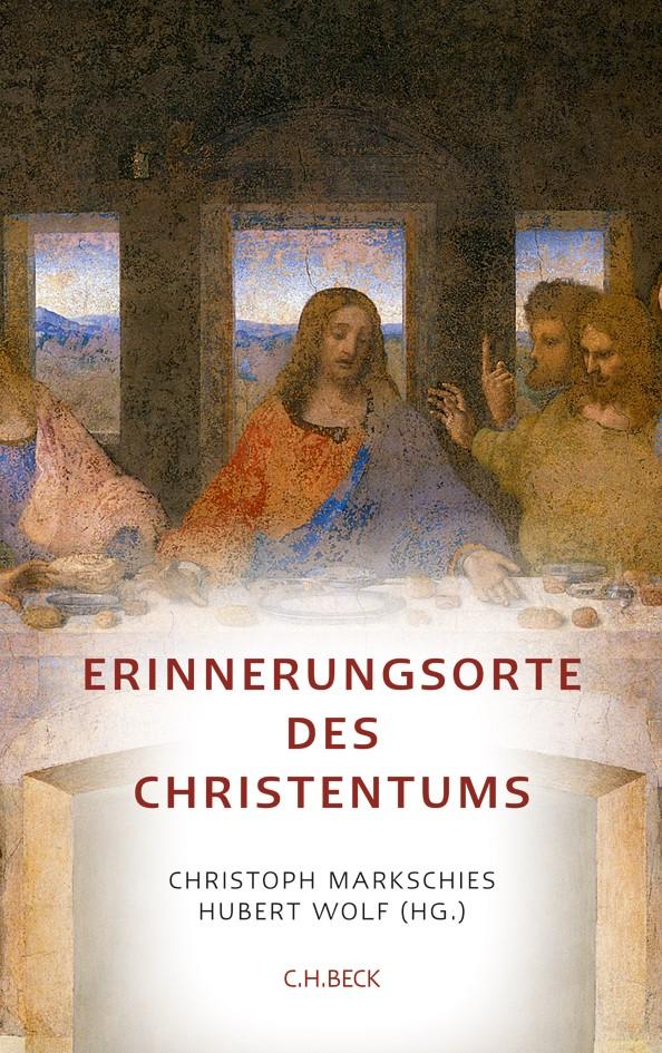 Cover des Buches 'Erinnerungsorte des Christentums'