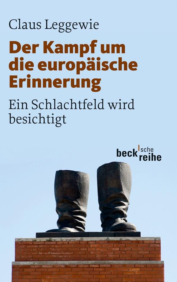 Cover des Buches 'Der Kampf um die europäische Erinnerung'