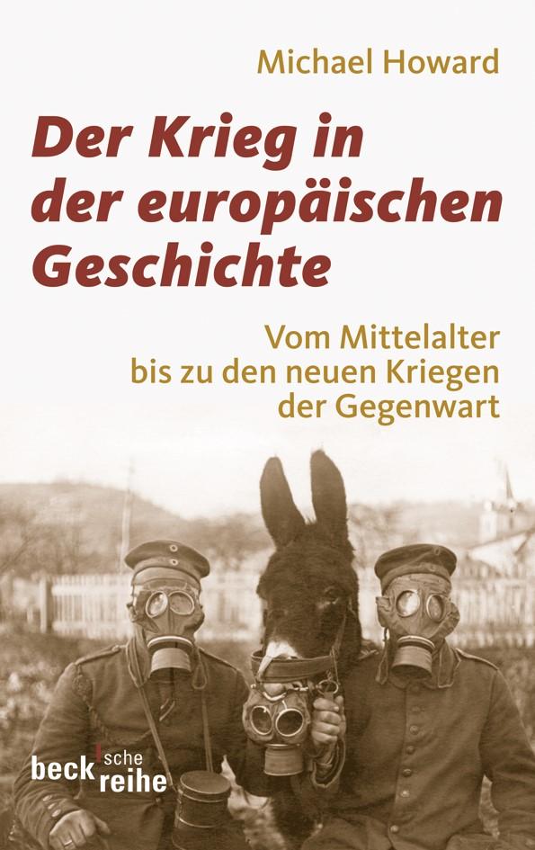 Cover des Buches 'Der Krieg in der europäischen Geschichte'