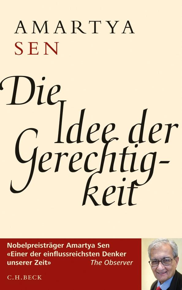 Cover des Buches 'Die Idee der Gerechtigkeit'