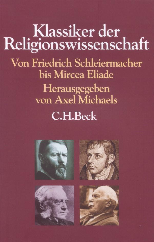 Cover des Buches 'Klassiker der Religionswissenschaft'