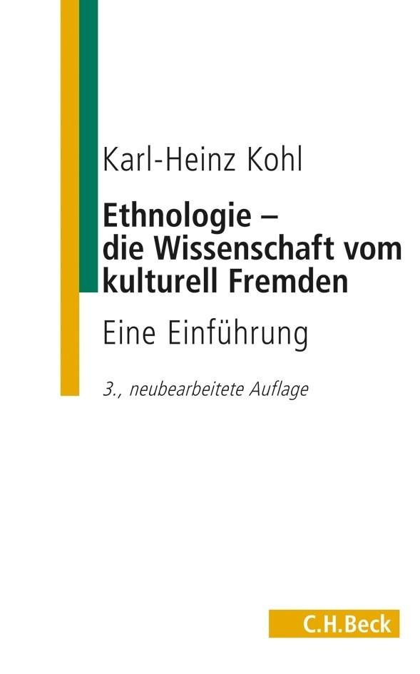 Cover des Buches 'Ethnologie - die Wissenschaft vom kulturell Fremden'