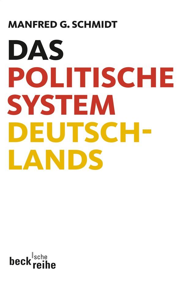 Cover des Buches 'Das politische System Deutschlands'