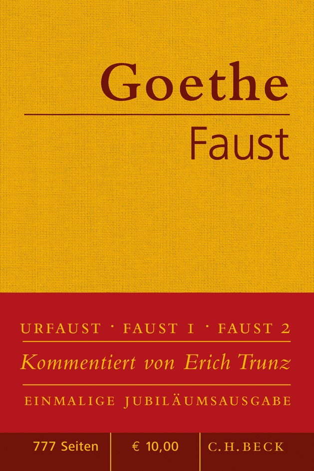 Cover des Buches 'Faust'