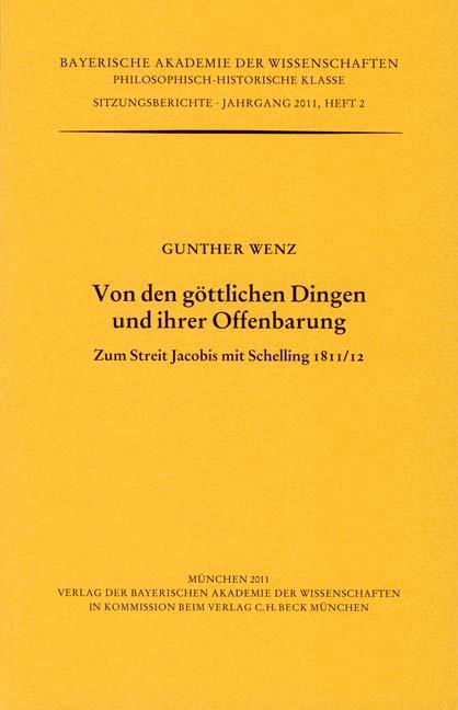 Cover des Buches 'Von den göttlichen Dingen und ihrer Offenbarung'