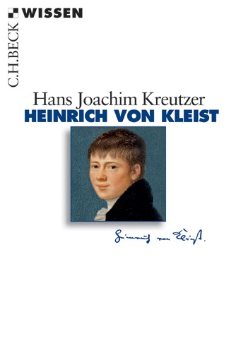 Cover des Buches 'Heinrich von Kleist'