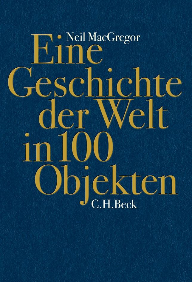 Cover des Buches 'Eine Geschichte der Welt in 100 Objekten'