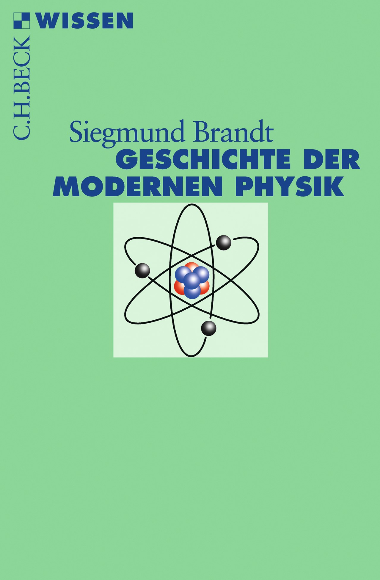 Cover des Buches 'Geschichte der modernen Physik'