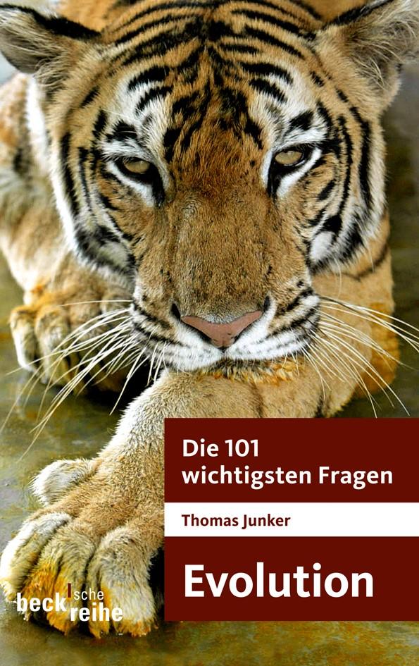 Cover des Buches 'Die 101 wichtigsten Fragen - Evolution'