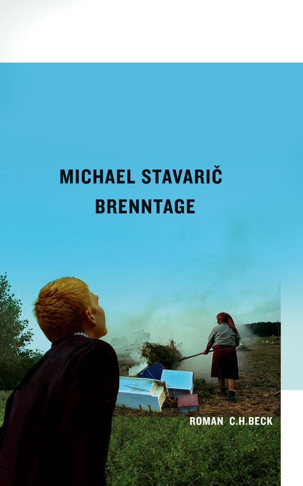 Cover des Buches 'Brenntage'