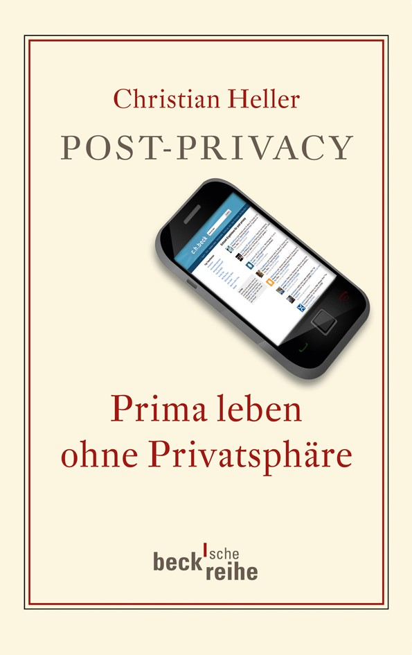 Cover des Buches 'Post-Privacy'